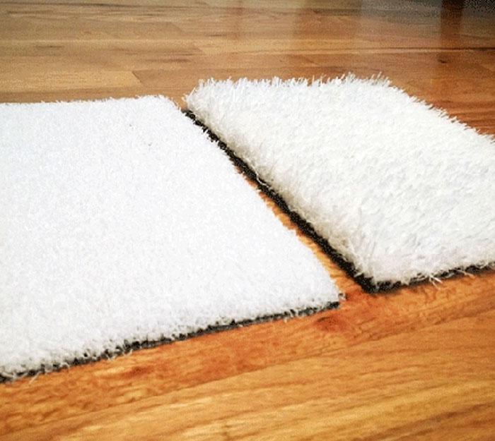 White Artificial Turf
